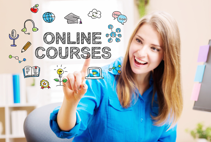 degree cource typing on paper online